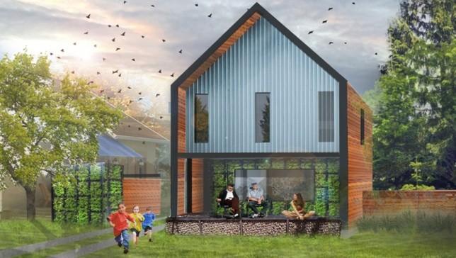 Progetto ideare una casa passiva per seattle performante replicabile e bella giardini di - Casa passiva torino ...